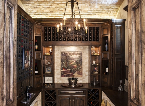 Custom Home Wine Grottos Bars Design By Jeff Paul Custom Homes